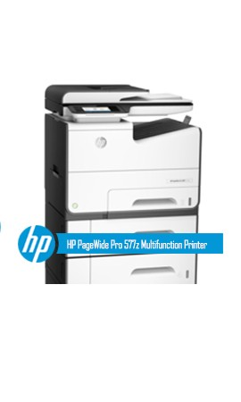 HP PageWide Pro 577z Multifunction Printer series