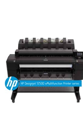 Designjet T2500 eMultifunction Printer series